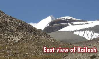East View of Kailash