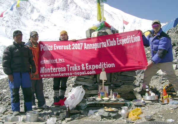 Tibet Side Everest Expedition
