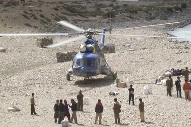 Helicopter Trip in Nepal