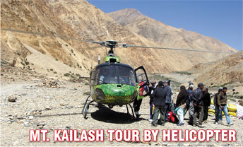 Mt Kailash Tour By Helicopter