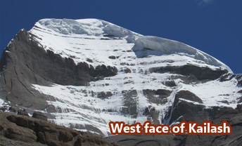West Face of Kailash