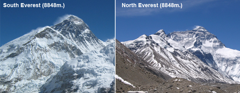Everest Expedition North and South Side 2016
